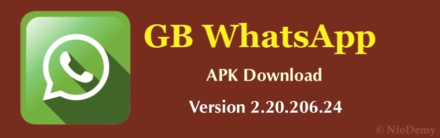 GB WhatsApp APK Version 2.20.206.24